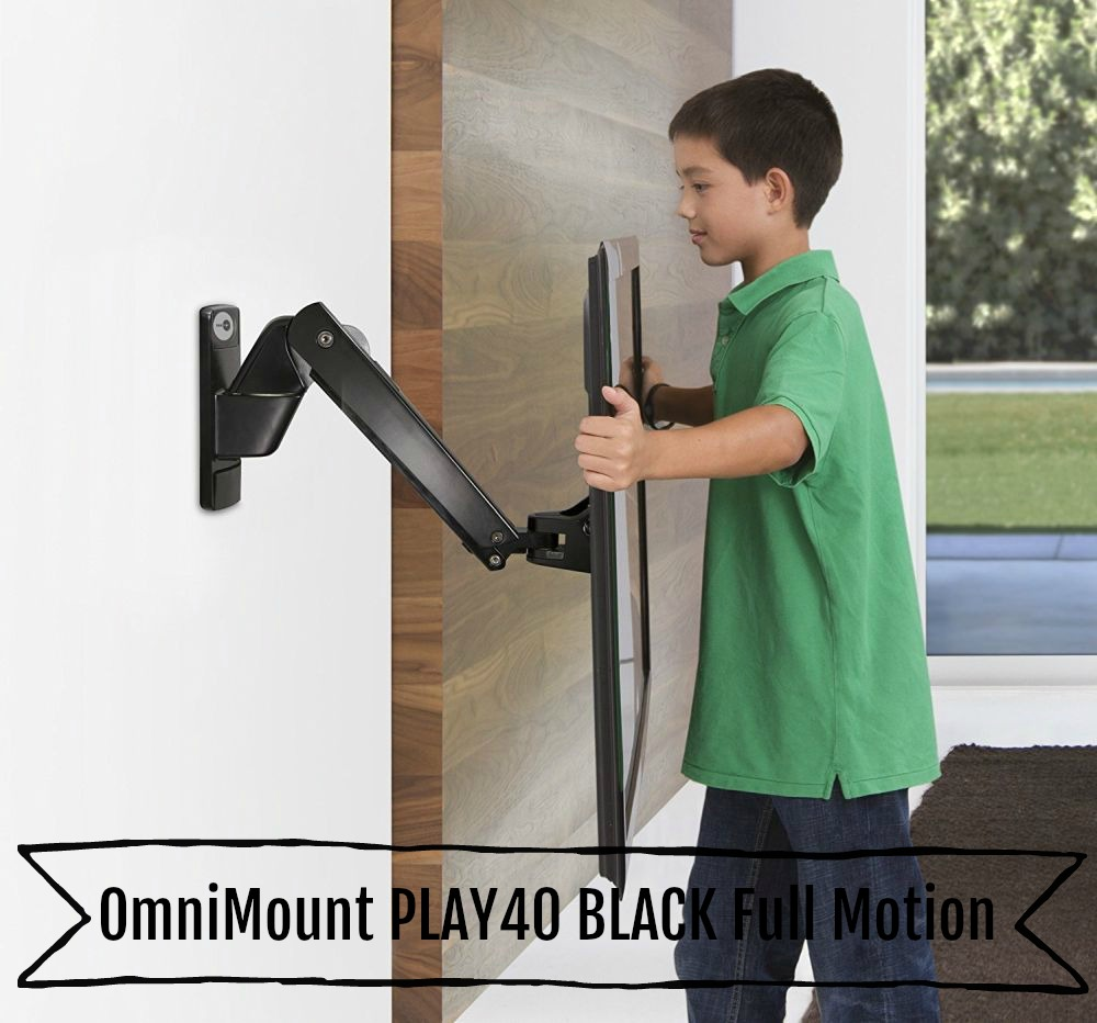 OmniMount PLAY40 BLACK Full Motion