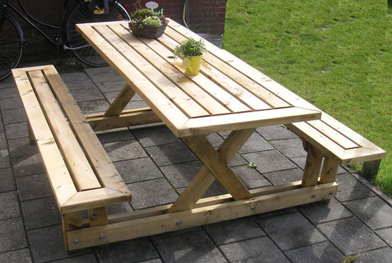 Superb Picnic Table Plans For A Perfect Weekend Project Short Links Chair Design For Home Short Linksinfo