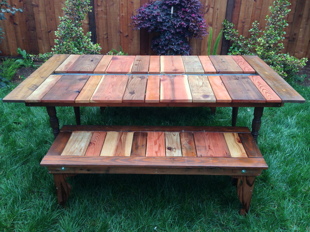 Picnic Table Plans For A Perfect Weekend Project - Modern picnic table plans