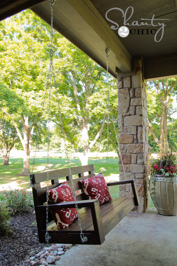 Awesome Porch Swing Plans For Wonderfully Relaxing Afternoons Ocoug Best Dining Table And Chair Ideas Images Ocougorg