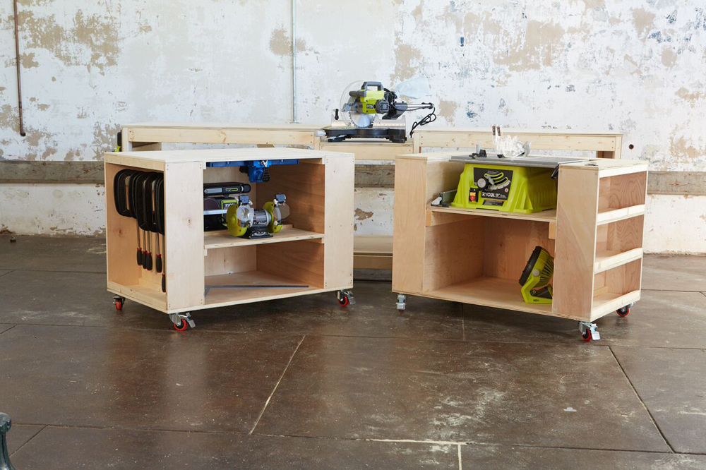 workbench plans with designs meant to inspire - How To Build A Garage Workbench