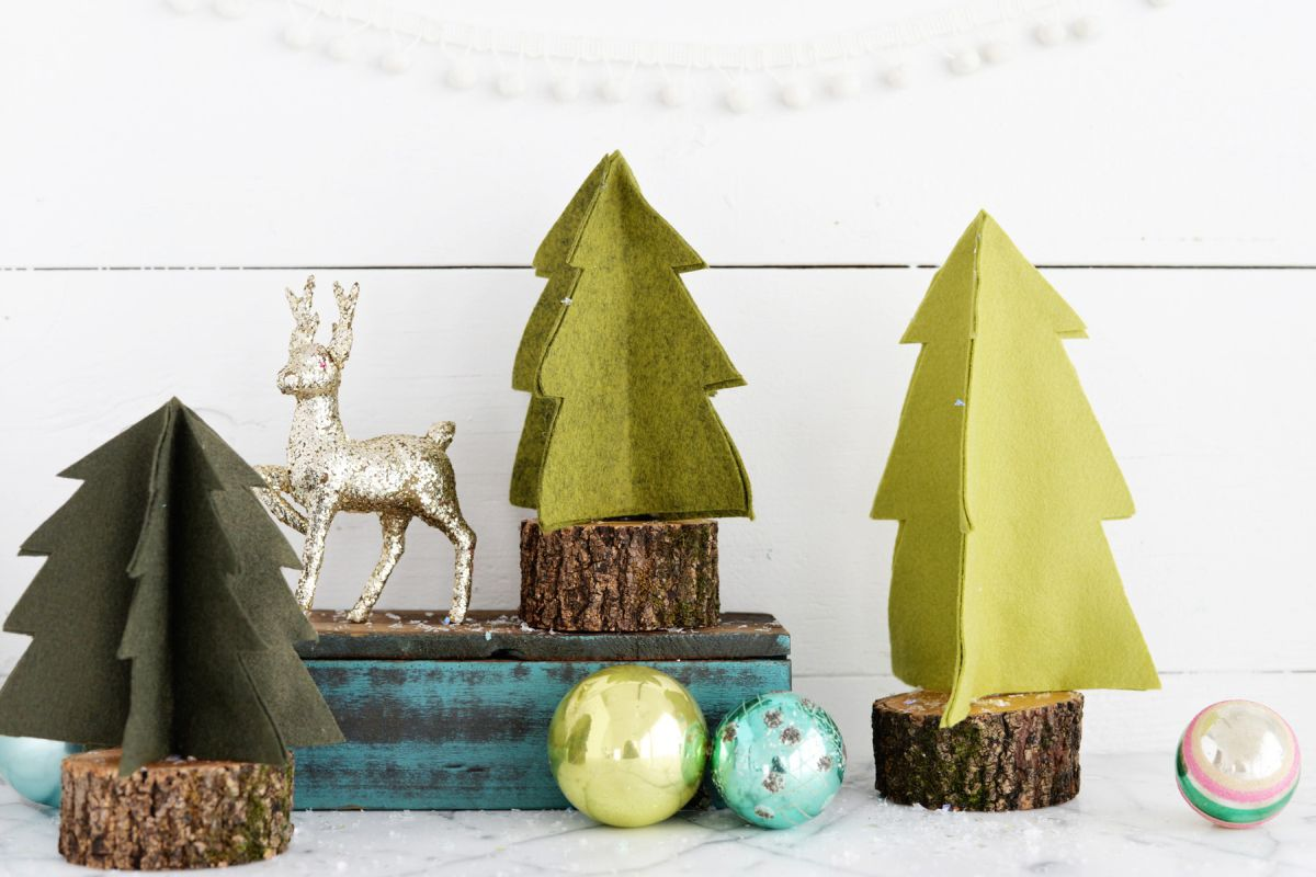 Diy Cone Christmas Trees.20 Miniature Christmas Trees Ready To Test Your Diy Skills