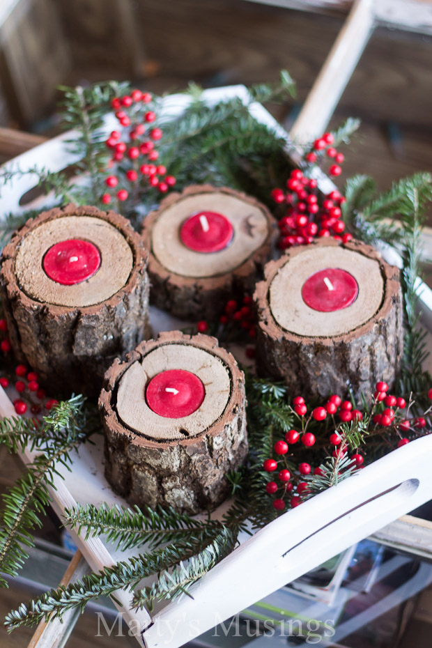 Charming DIY Decorations For A Rustic Christmas images 27