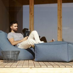 Sail Pouf - outdoor seating