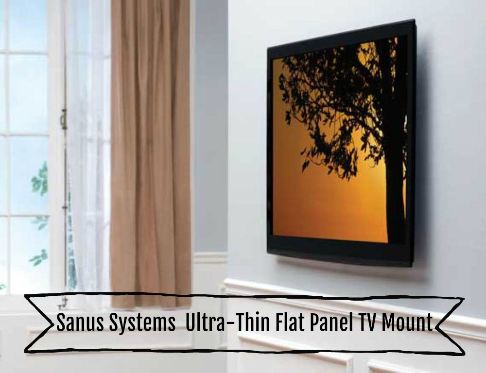 Sanus Systems LL11-B1 Ultra-Thin Flat Panel TV Mount
