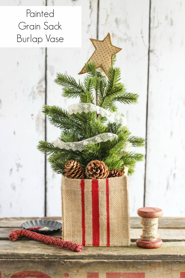Charming DIY Decorations For A Rustic Christmas images 20