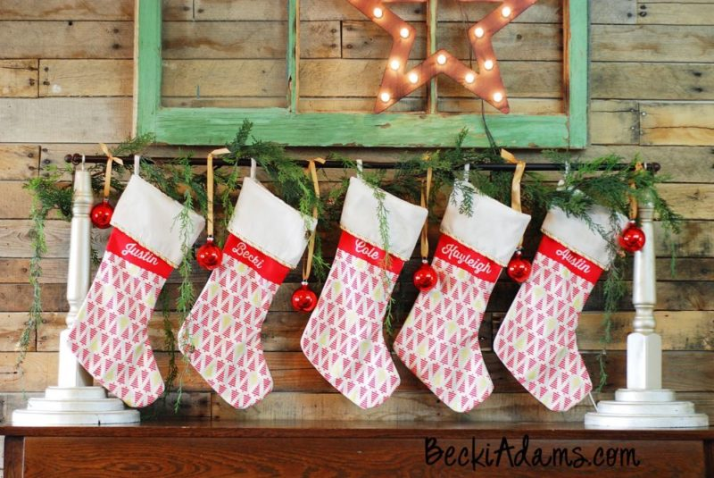 20+ Christmas Stocking DIYs You Should Try Before It's Too Late