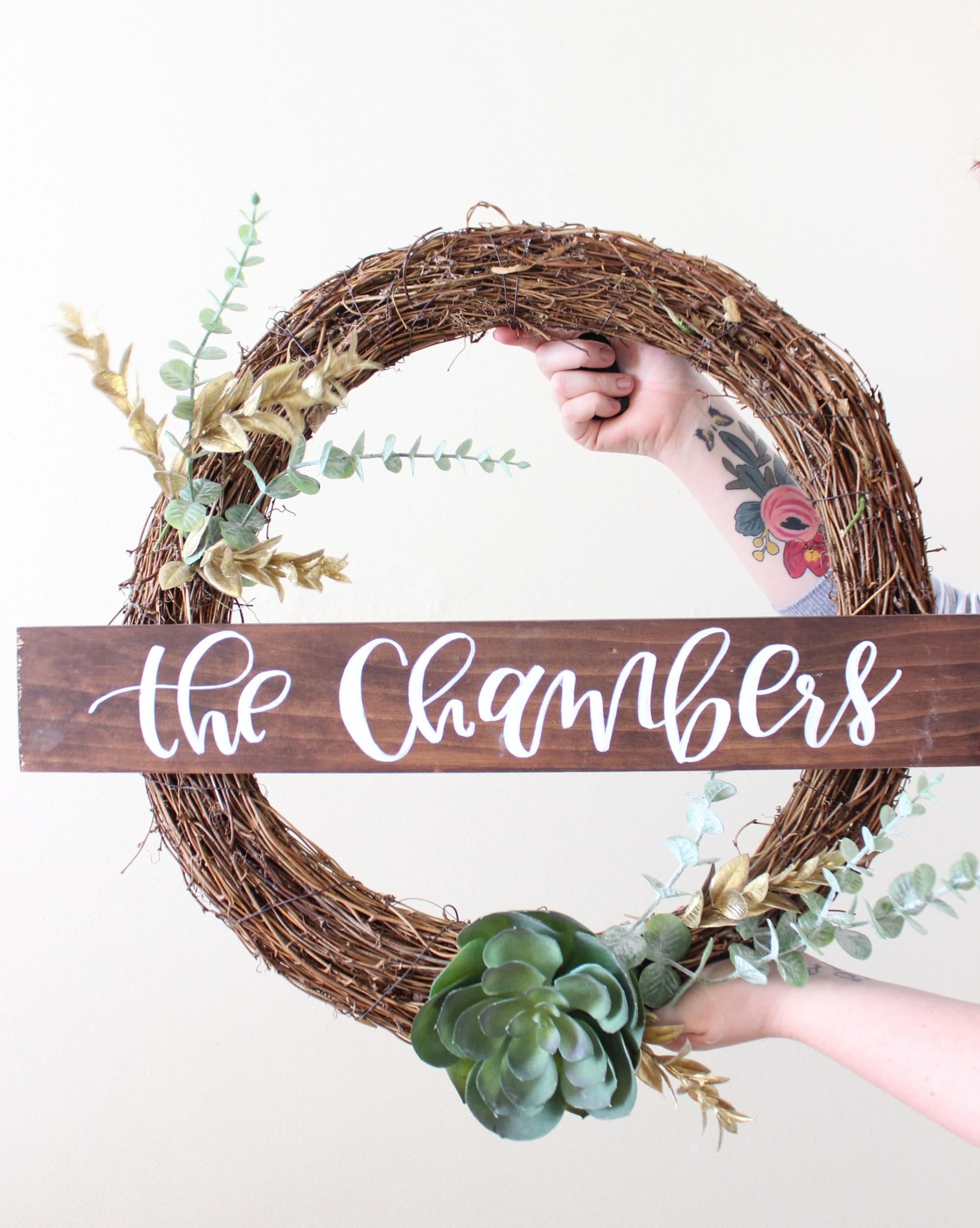 how to make a wreath out of christmas tree branches