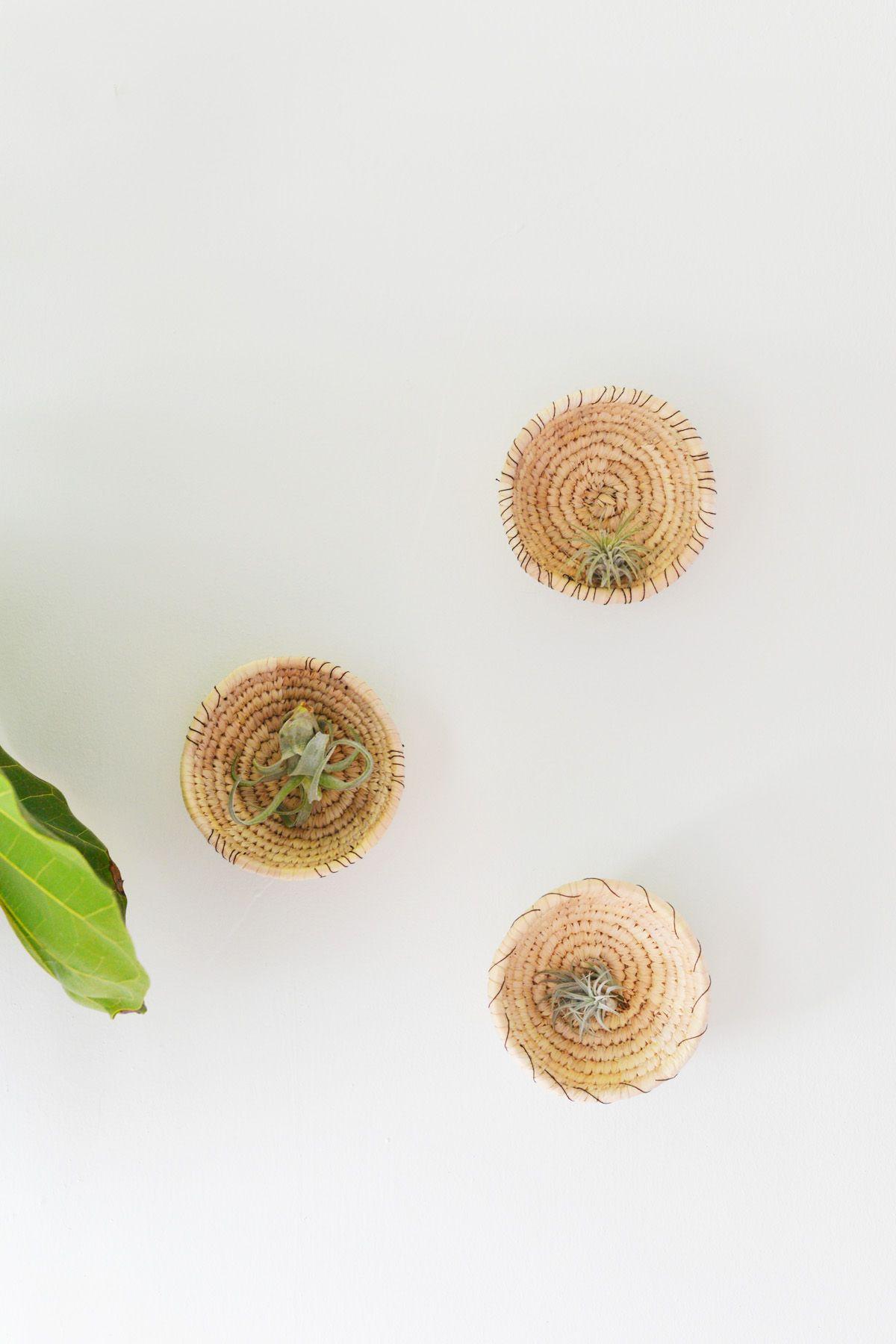 Wall Basket Planters