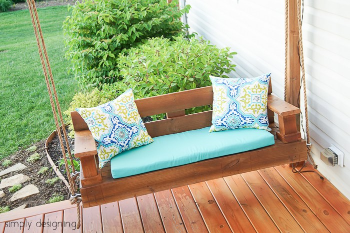 Porch swing plans for wonderfully relaxing afternoons for Shanty 2 chic porch swing