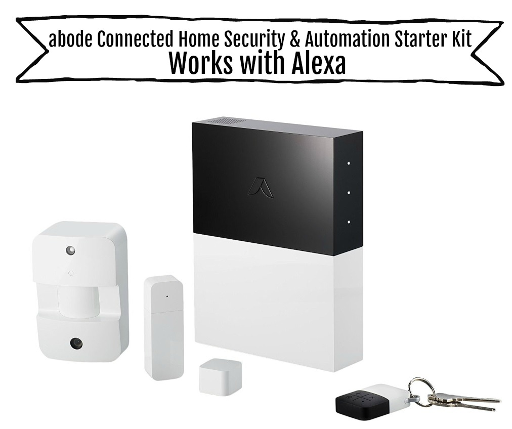 abode Connected Home Security & Automation Starter Kit, Works with Alexa