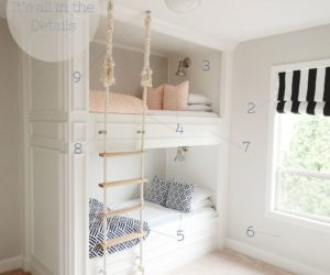 Stylish Bunk Bed Plans – It's All In The Details