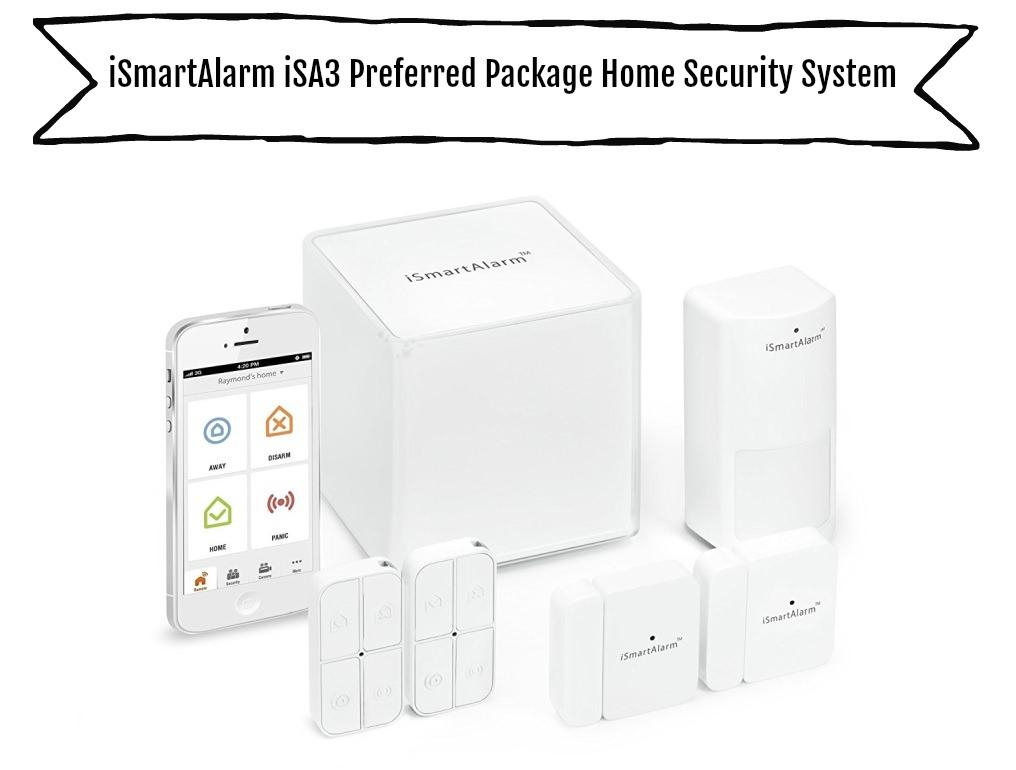 iSmartAlarm iSA3 Bevorzugtes Paket Home Security System