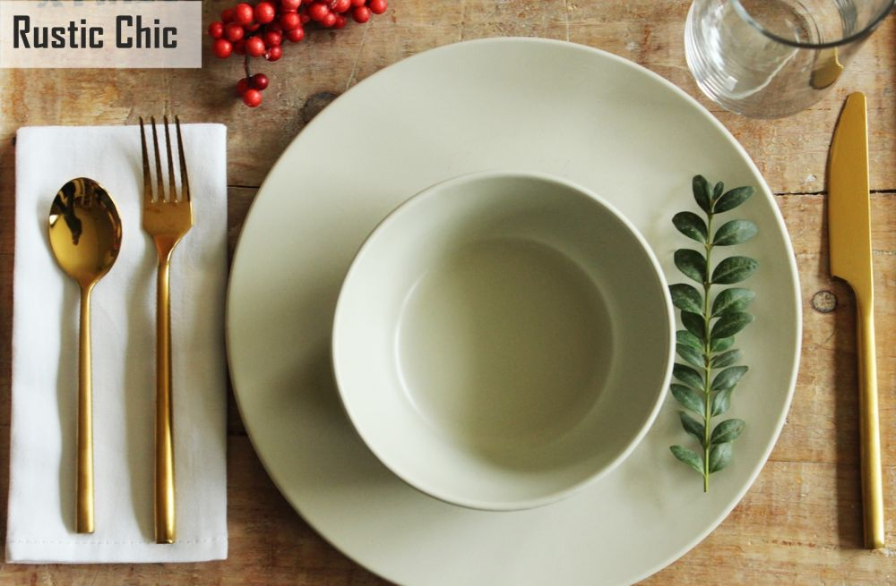 Simplify Your Holidays: Easy & Gorgeous Christmas Table Settings images 14