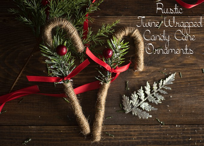 Charming DIY Decorations For A Rustic Christmas images 12