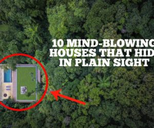 10 Mind-Blowing Houses That Hide In Plain Sight