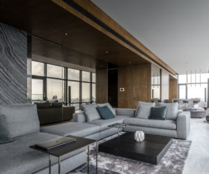 Bachelor Loft Gets Reinvented With A Refined Decor And Panoramic Views