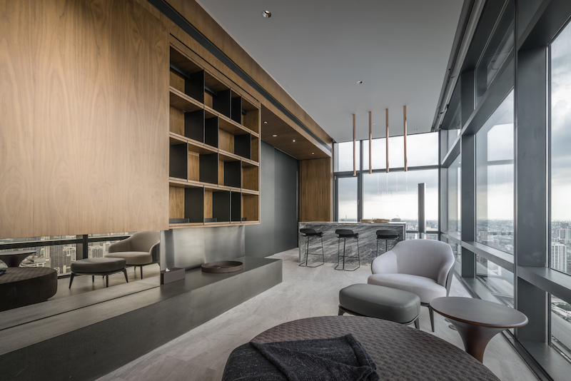 The new design of the loft came with some structural changes meant to open up the interior