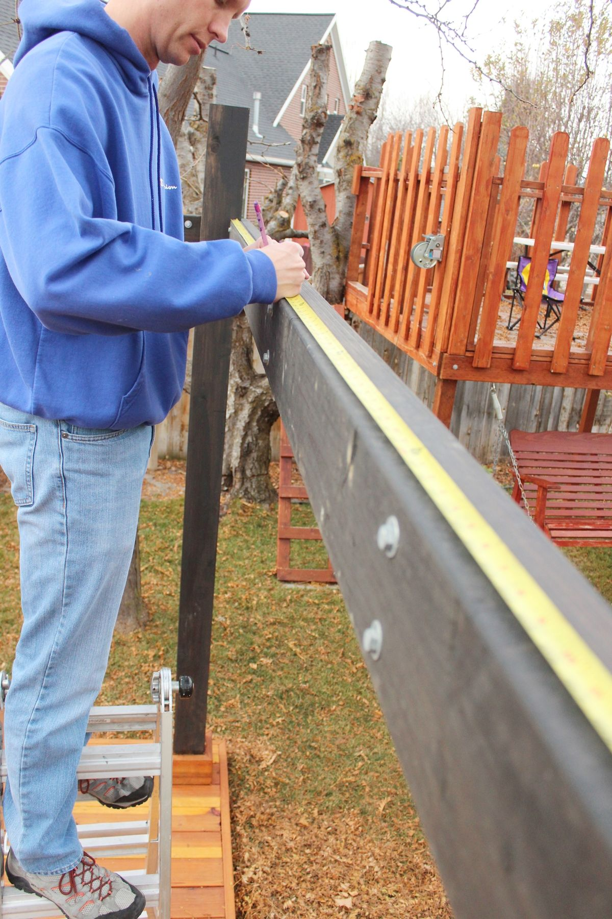 Before you begin installing your pergola rafters