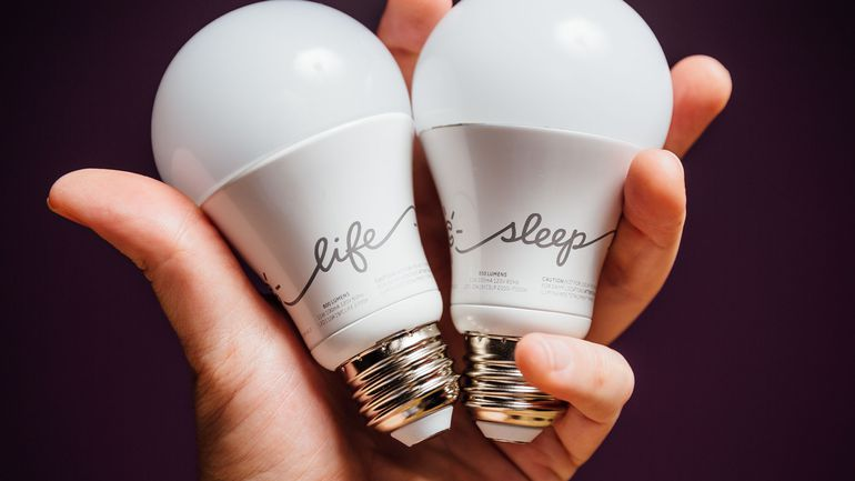 C by GE A19 C-Life and C-Sleep Smart LED Light Bulb Combo