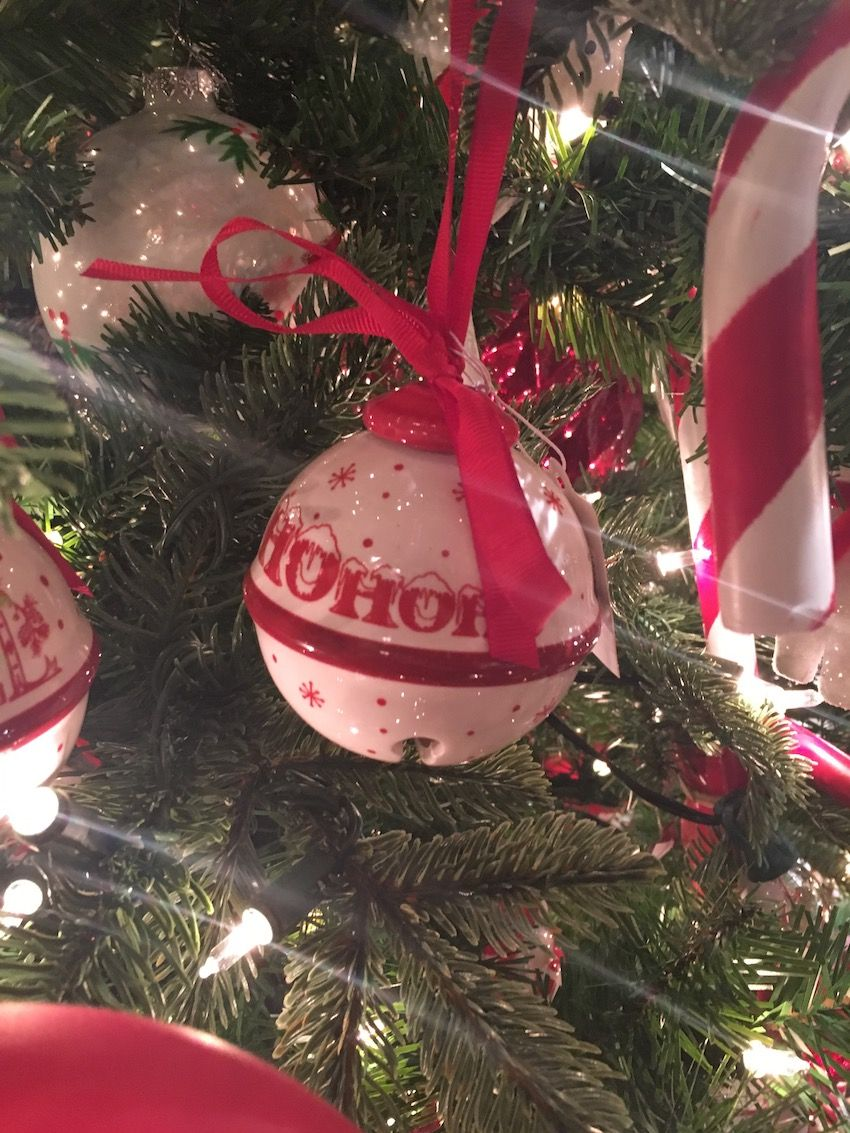 Ceramic ornaments are more fragile but can add a different feel to the assortment of decorations.