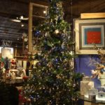 Large, embellished ornaments help the tree make a luxurious statement.