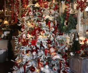 Red And White Christmas Tree Decorations Ideas.Christmas Tree Decorating Ideas For All Kinds Of Tastes