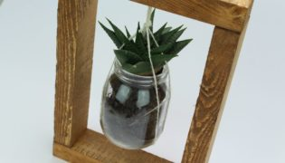 Table-Top Hanging Planter Frame