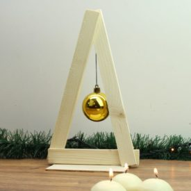 Minimalist Wooden Holiday Tree