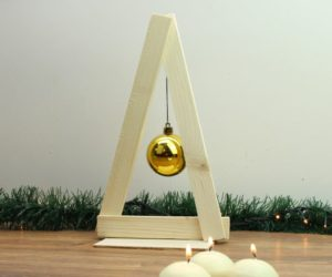 Minimalist Wooden Holiday Tree