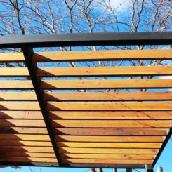 How to Build a Modern Pergola - seal