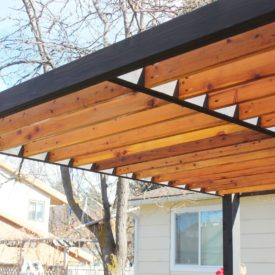 How to Install Pergola Rafters Step by Step