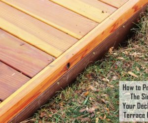 How to Protect the Sides of your Low Deck with Terrace Board