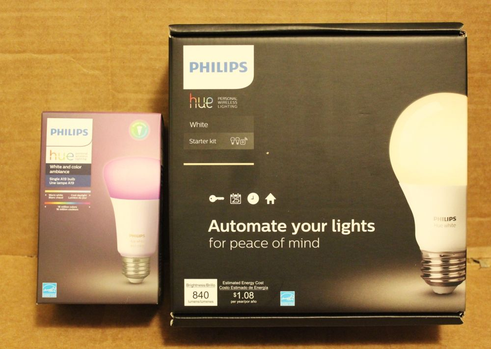 how to set up philips hue starter kit. Black Bedroom Furniture Sets. Home Design Ideas