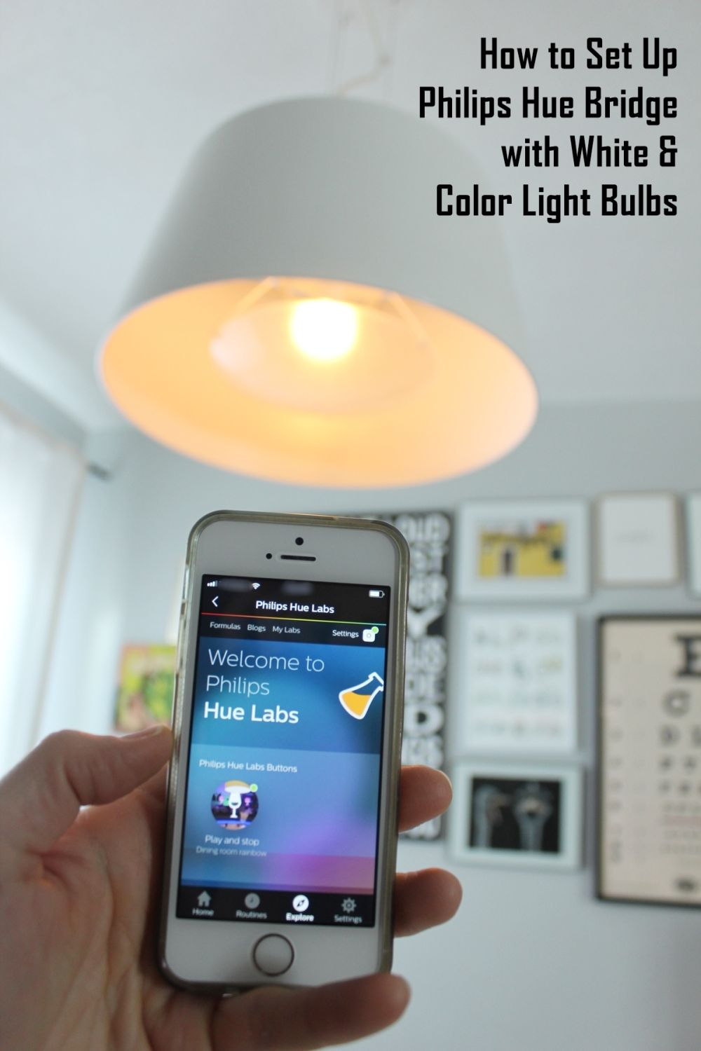 How to Set Up Philips Hue Starter Kit