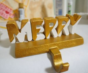 Christmas Stocking Holder For Your Holiday Mantel