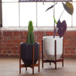 Modernica Case Study Small Hex Ceramic with Base