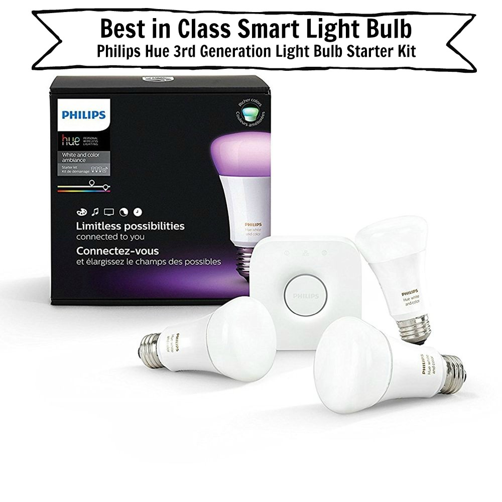 Philips Hue 3. Generation Glühbirne Starter Kit
