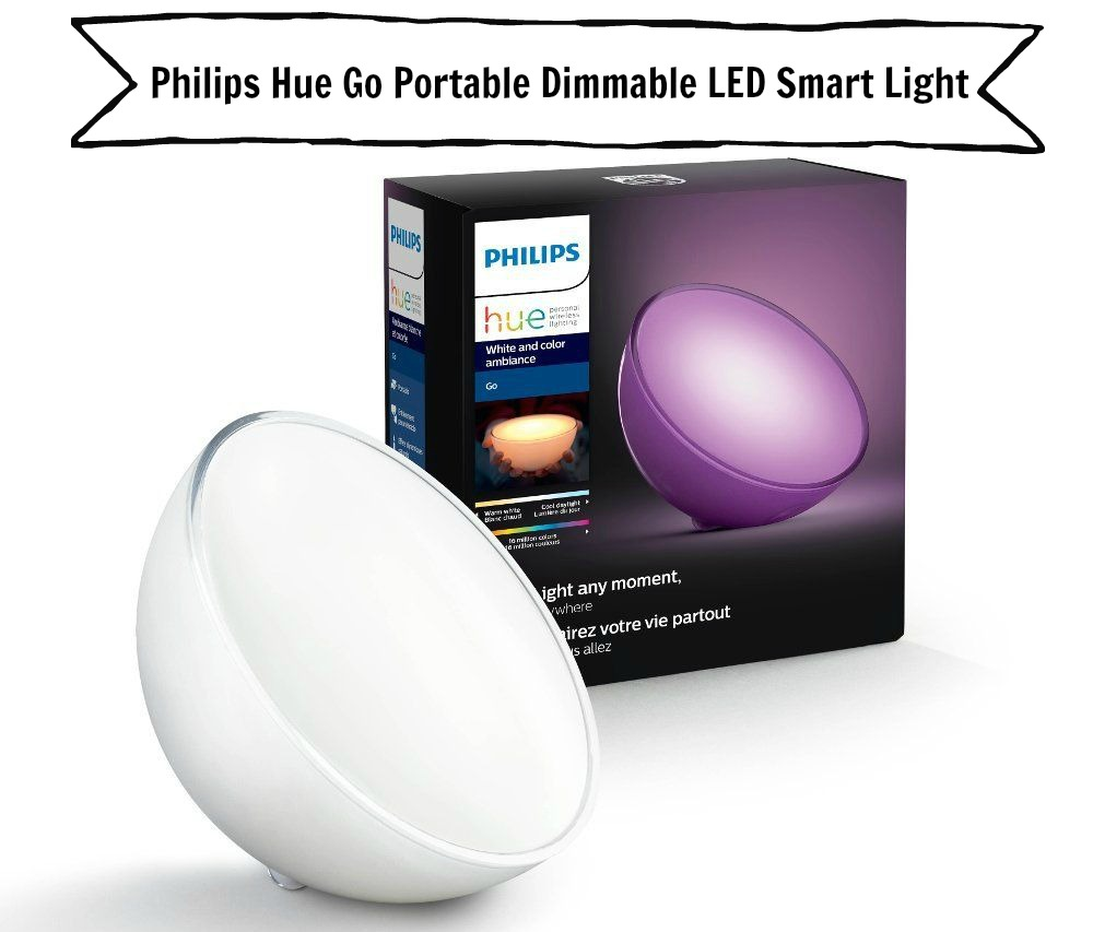 Philips Hue Go Portable Dimmable LED Smart Light Table Lamp