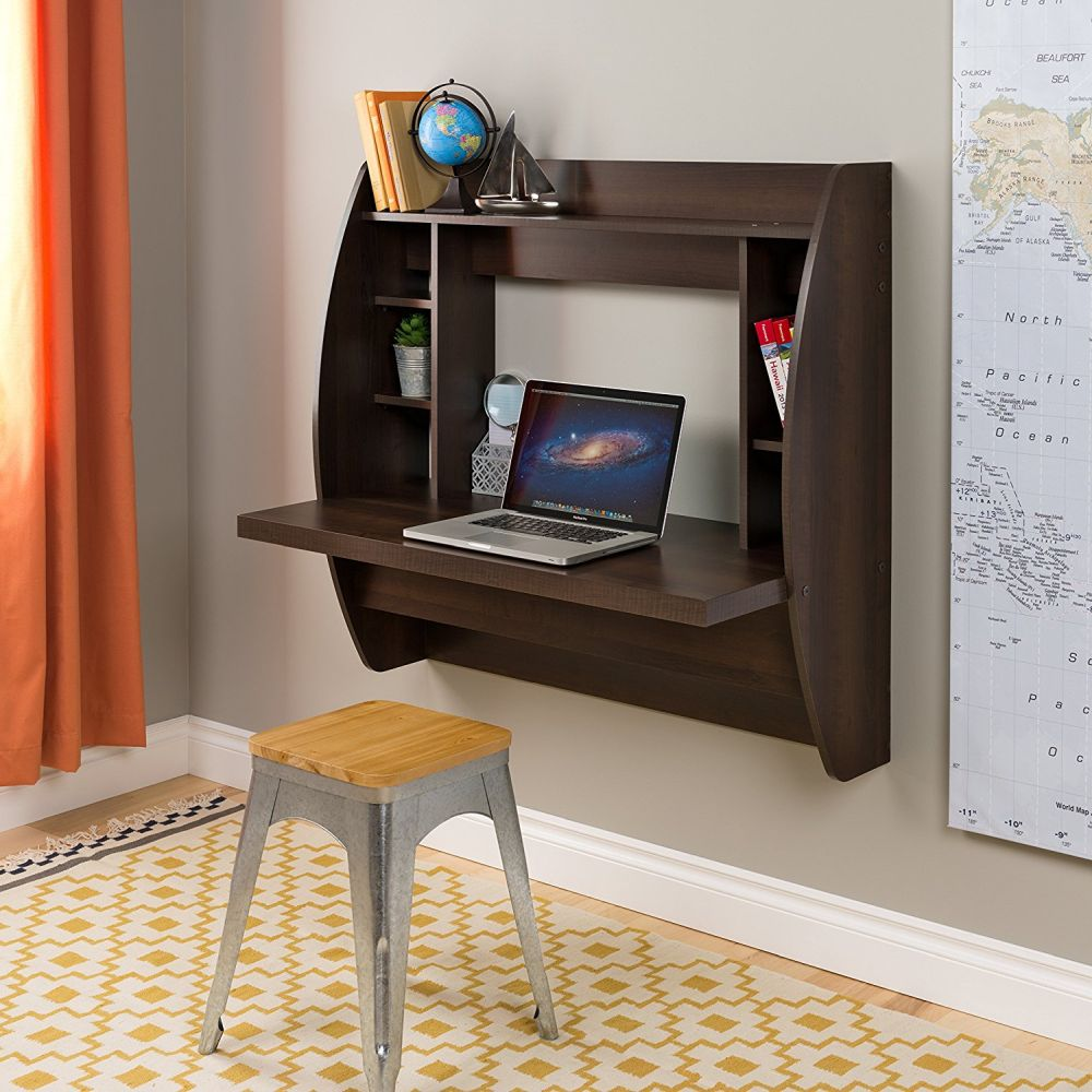 - Modern Wall-Mounted Desk Designs With Flair And Personality
