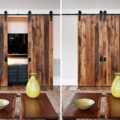 Rustic Small Barn Sliding Wall