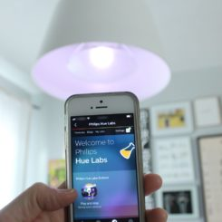 Set up philips hue smart lights
