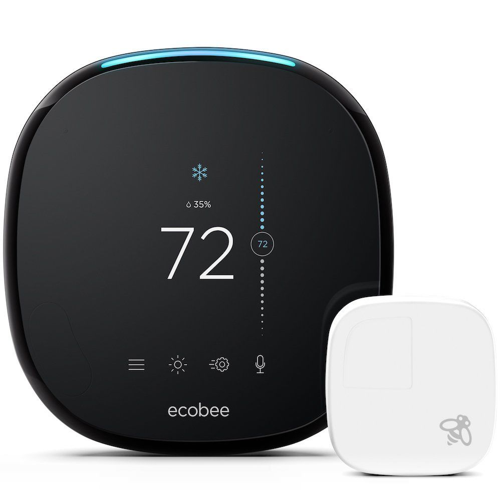 ecobee4 Alexa-Enabled Thermostat mit Sensor