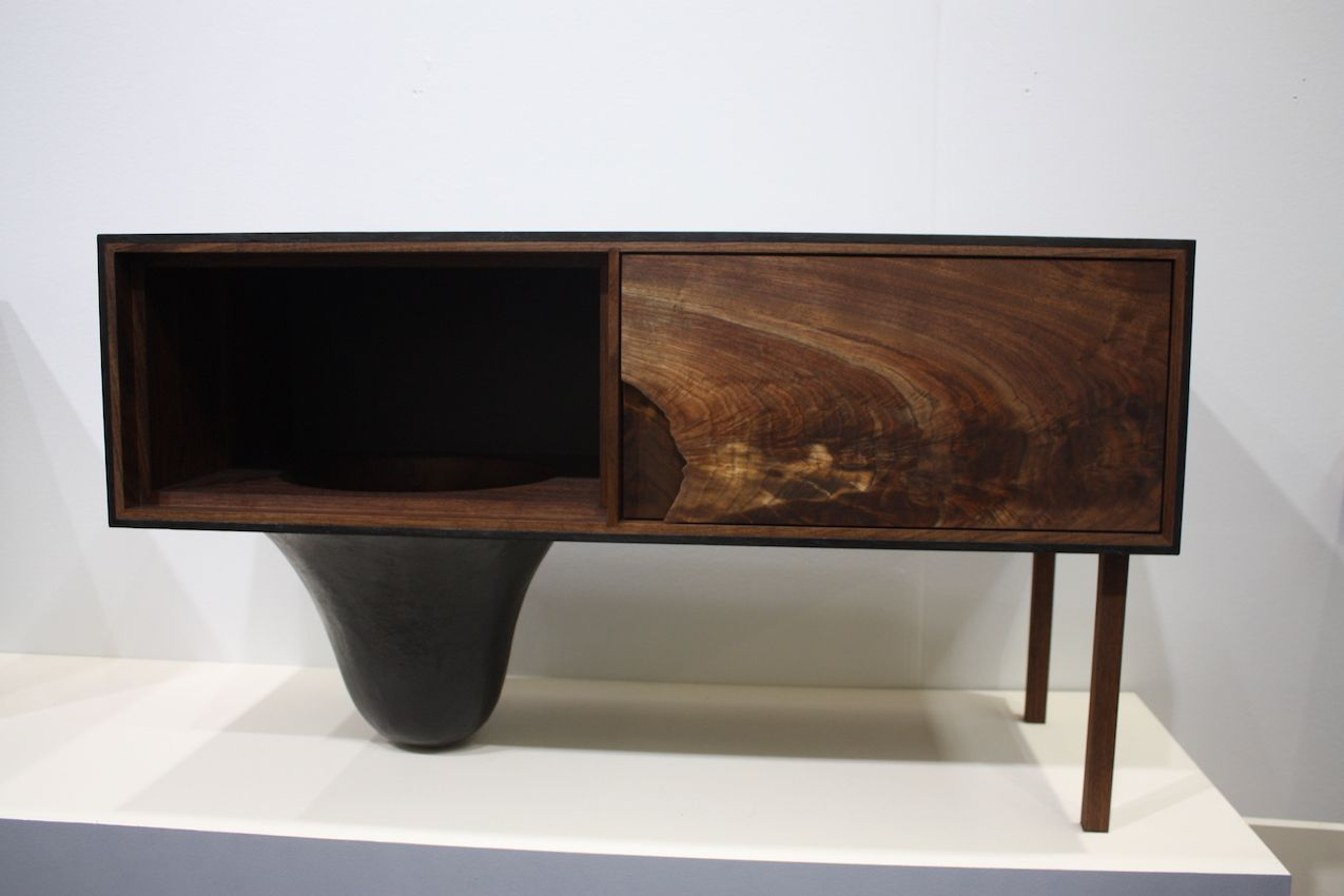 Unexpected furniture designs like Patrick Weder's console is typical of this show.