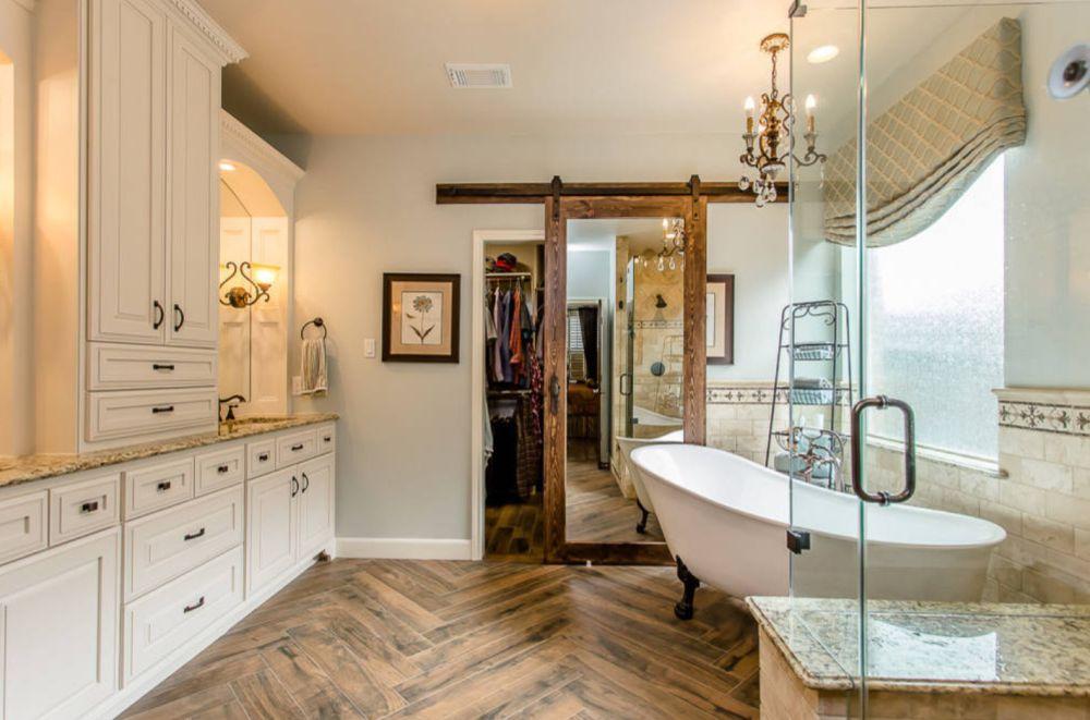 view in gallery - Barn Door For Bathroom