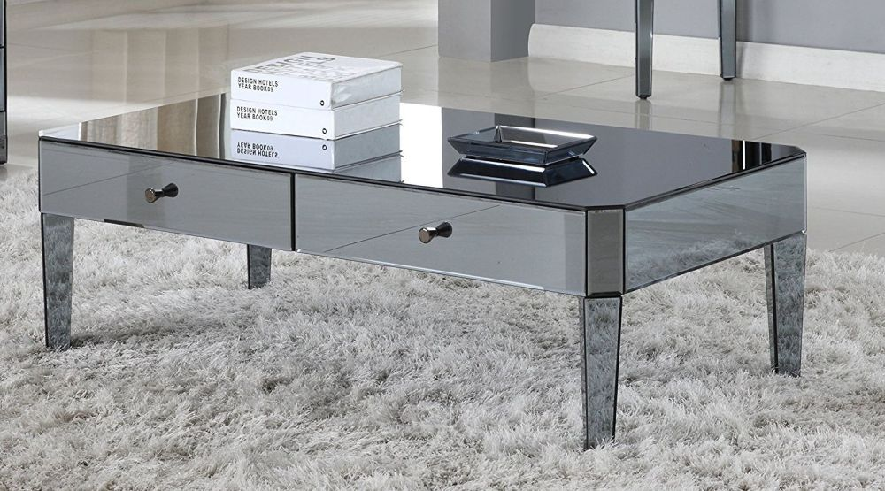 Mirrored Coffee Table The Glamorous Accent Every Living Room Needs