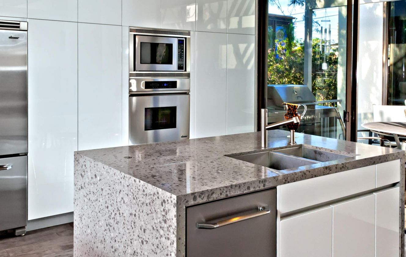 Waterfall Countertop Trend