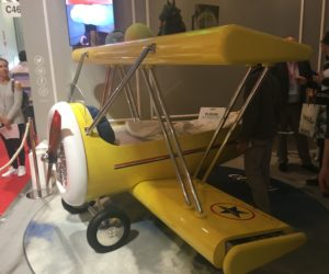 Kids can dream big in a fantasy bed like a plane.