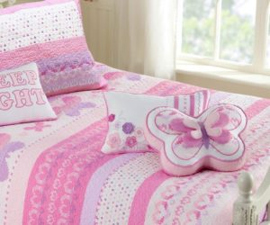 30 Girls' Bedding Sets With Sweet And Lovely Designs