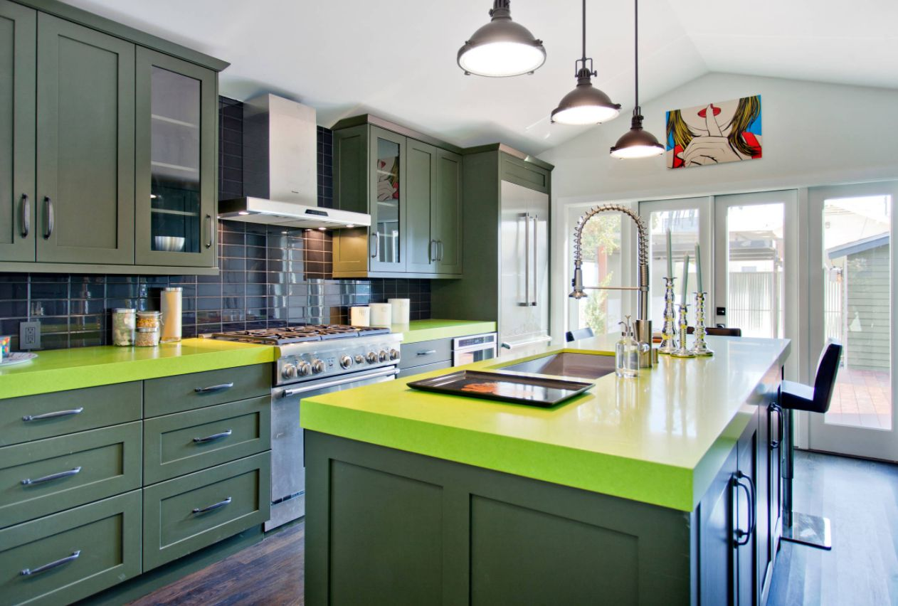 Colors For Kitchen Cabinets And Countertops